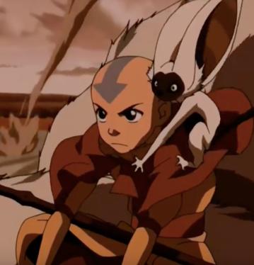 Aang and Moma
