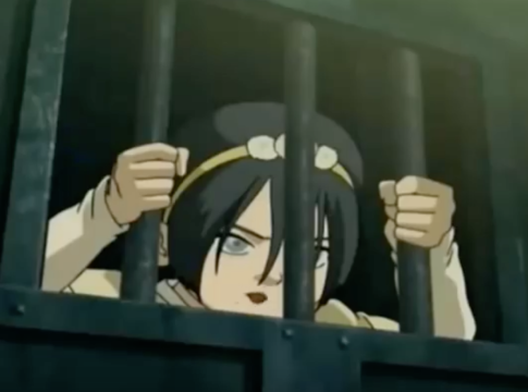 Toph in Avatar