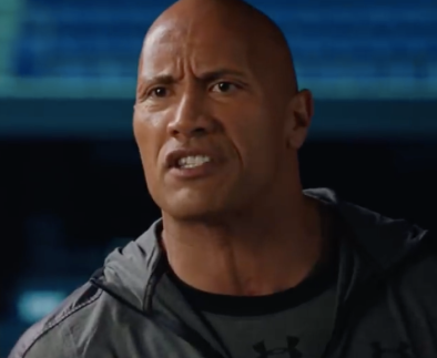 the rock in fighting with my family