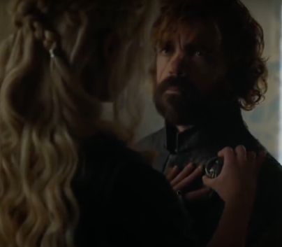 Dany pins Tyrion she should have killed him