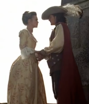 Elizabeth and Will in Pirates