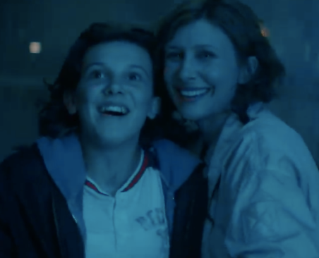 millie bobby brown and vera farmiga