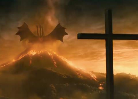 Ghidorah rises in Godzilla