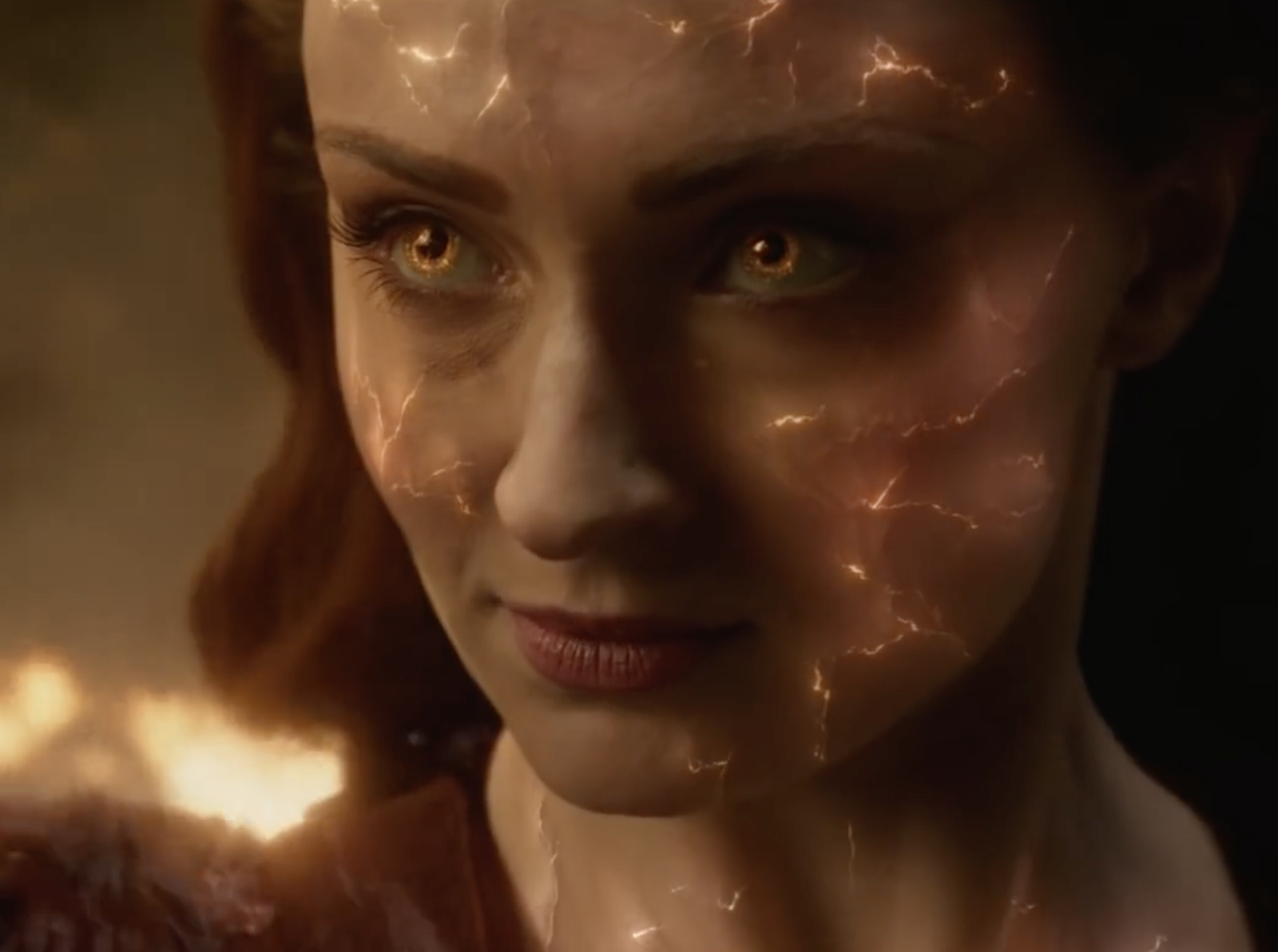 Sophie Turner as jean grey
