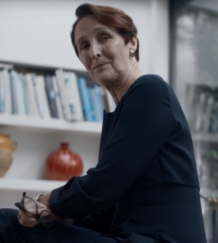 Fiona Shaw as Carolyn in Killing Eve