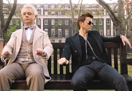 sheen and tennant in good omens