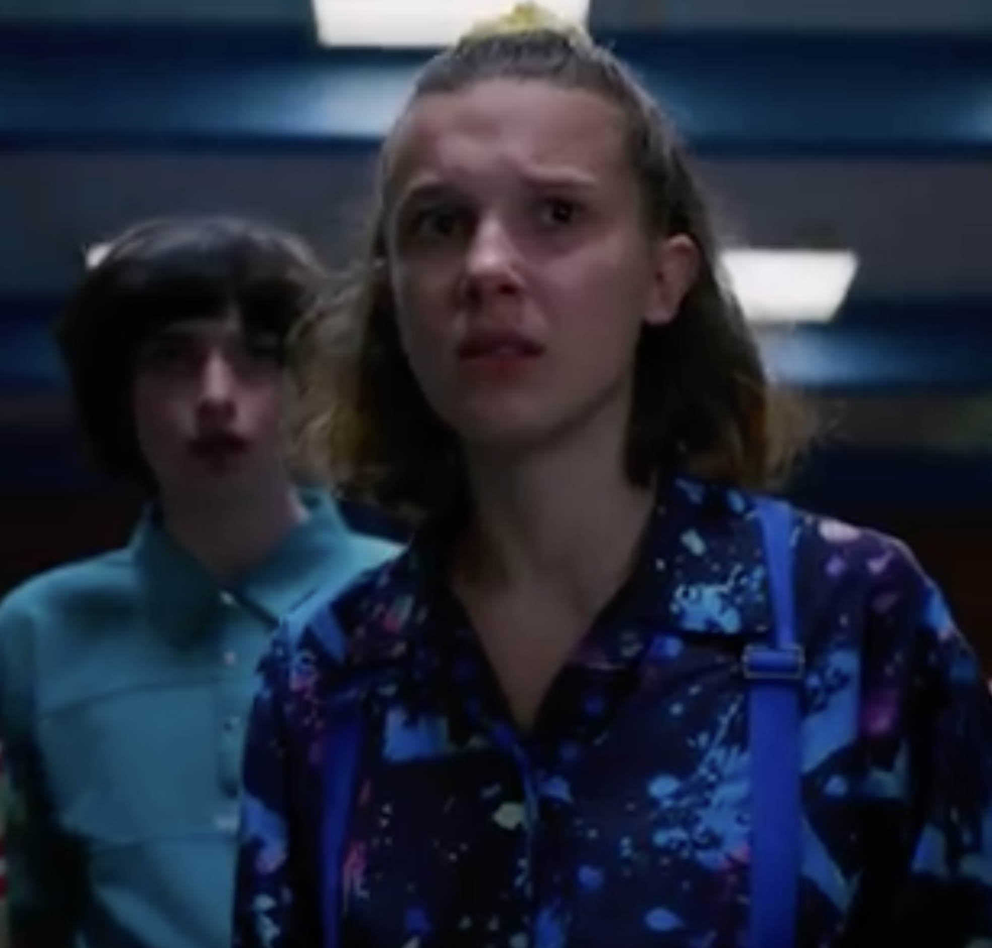 Eleven faces Stranger Things 3