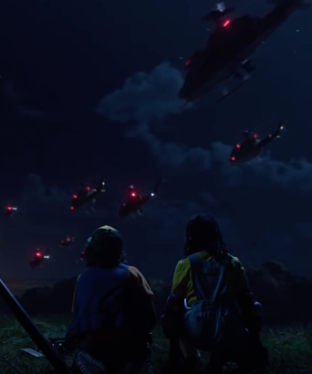 the army arrives in stranger things