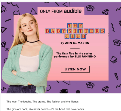 the baby-sitters club audible