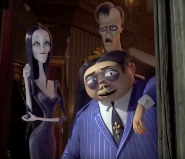 Morticia, Lurch and Gomez return