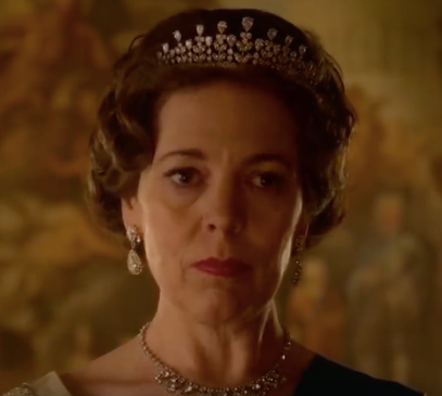 Olivia Coleman as the Queen