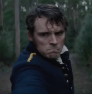 Sam Claflin in the Nightingale