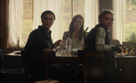 Rachel Weisz, Scarlet Johansson and Florence Pugh
