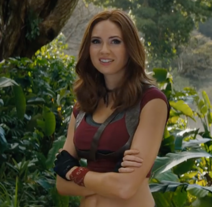 Karen Gillian in Jumanji