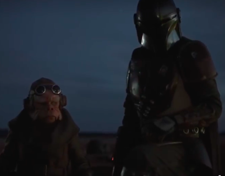 Mando and Kuiil in the Mandalorian