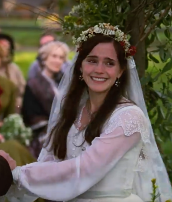 Emma Watson as Meg in Little Women