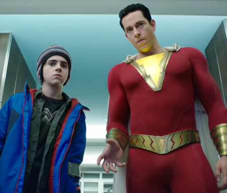 Shazam and friend