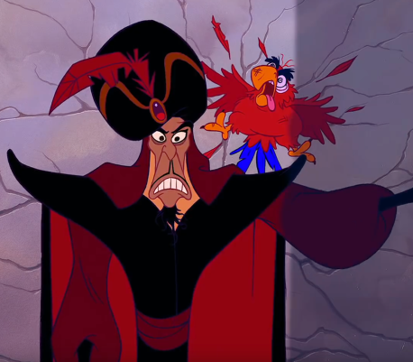 Jafar in Aladdin 1992