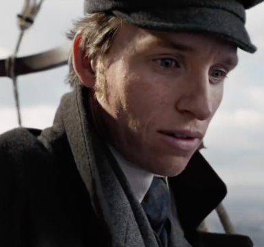 Eddie Redmayne in the Aeronauts