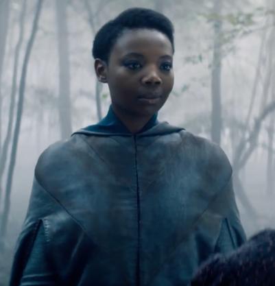 Mimi Ndiweni as Fringilla in the Witcher