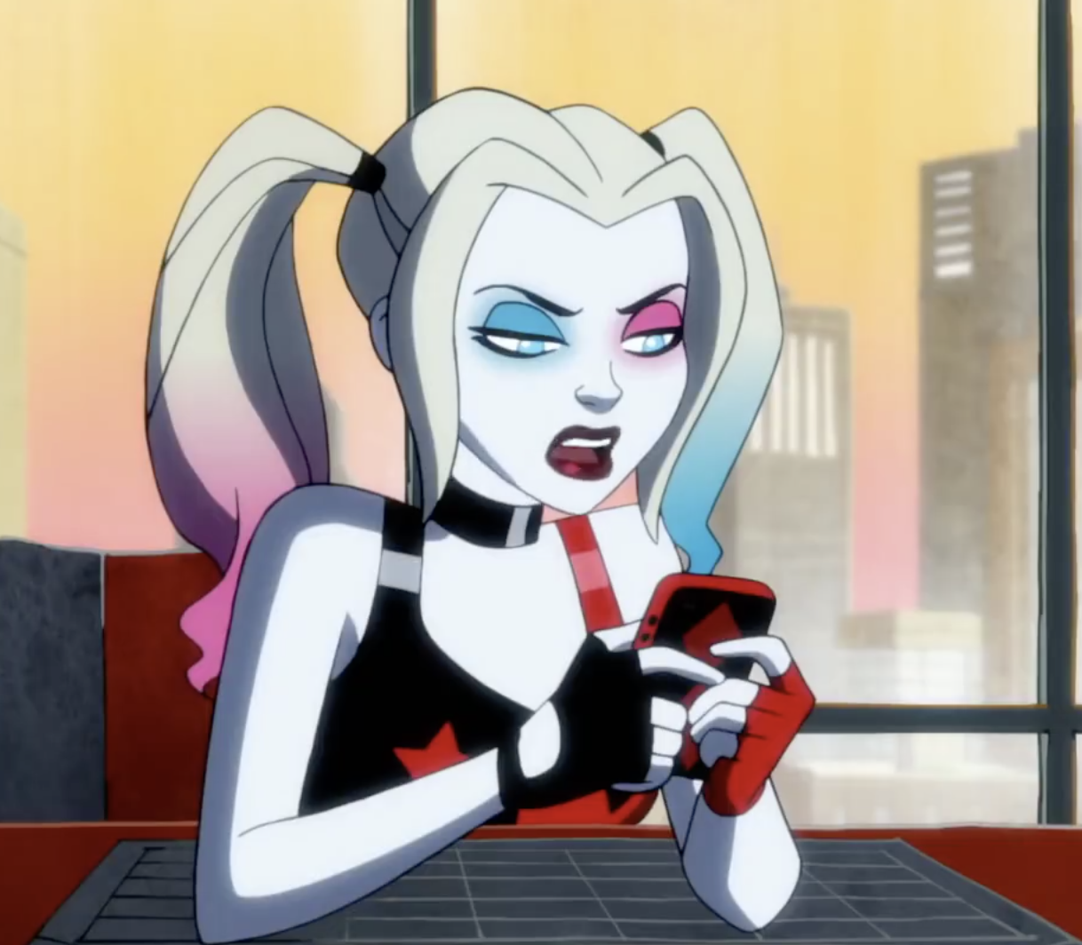 Harley Quinn on Social Media
