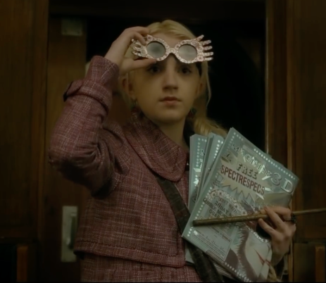 Luna Lovegood in Harry Potter