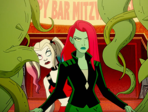 Ivy and Harley in the Harley Quinn Show