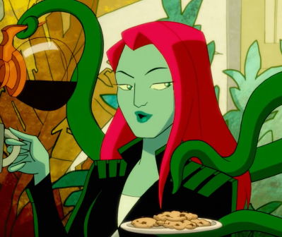 Poison Ivy in the Harley Quinn show