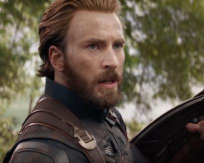 Chris Evan's beard