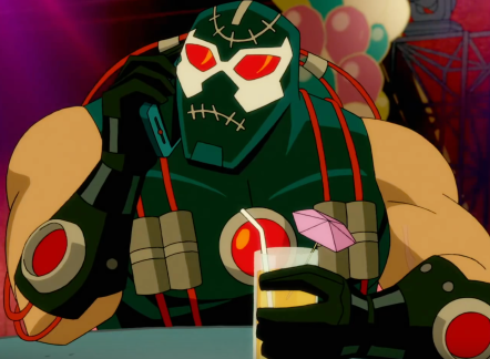 Bane in The Harley Quinn Show