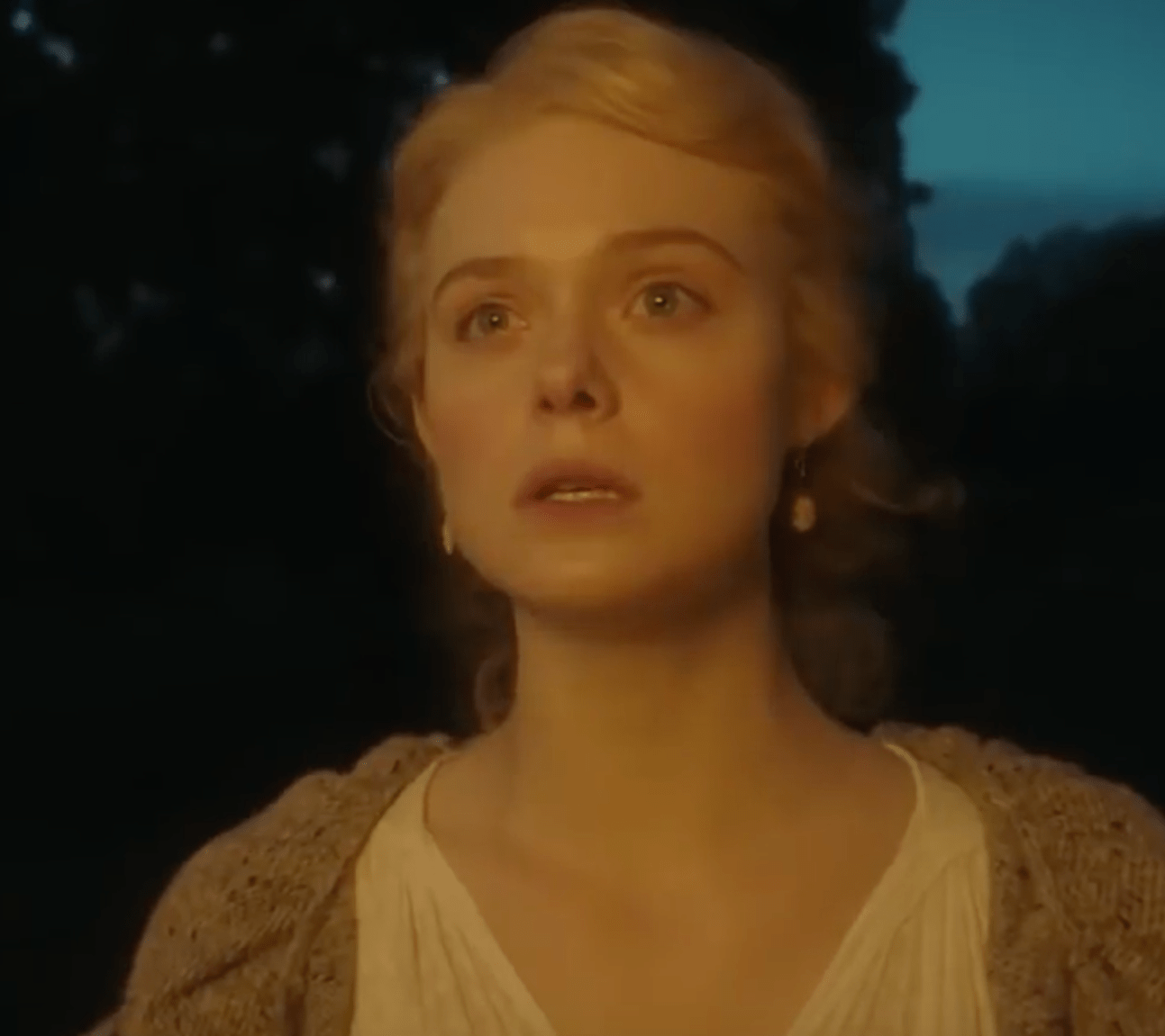 Elle Fanning as Catherine in the Great