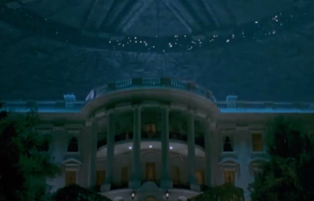 aliens invade the White House