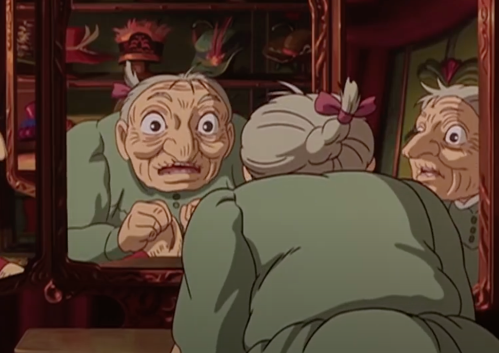 Old Sophie in Howl's Moving Castle